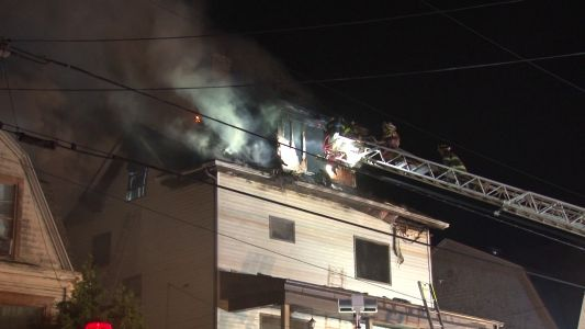 Two people escape burning home in Monessen