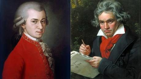 Slate calls for Mozart & Beethoven to be referred to by their full names to fight 'sexism and racism,' leaving Twitter baffled