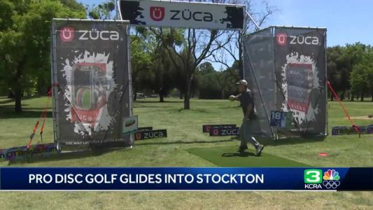 Disc golf tournament with top pros glides into Stockton this weekend