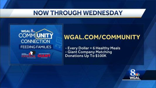 Community Connection Feeding Families virtual food drive has been extended