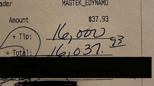 Anonymous customer leaves $16,000 tip at NH bar and grill