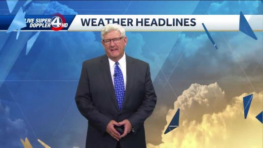Videocast: Mostly cloudy, isolated showers