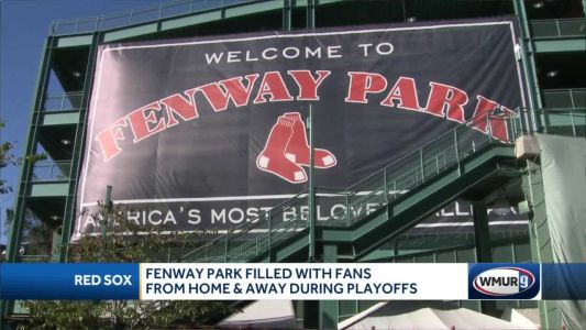 Fenway Park filled with fans from home and away during ALCS