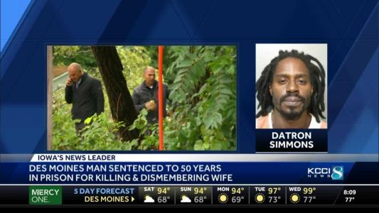 Des Moines man sentenced to 50 years for killing, dismembering wife