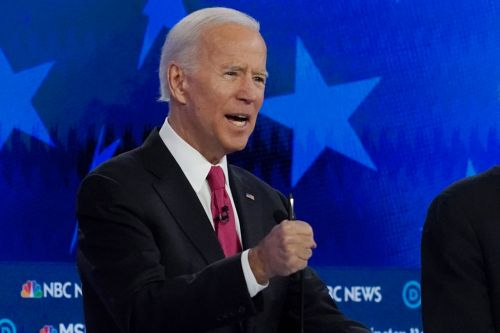 Democratic debate: Joe Biden says we need to 'keep punching' at domestic violence