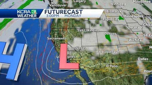 More warm weather Sunday followed by a strong north wind