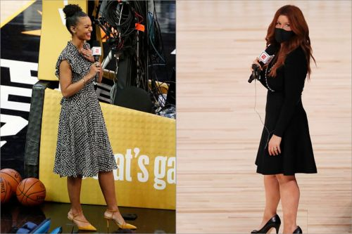 Malika Andrews Praised As NBA Finals Reporter While Rachel Nichols Bombs After Game 6