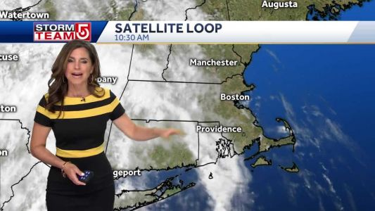 Video: Showers move in this evening