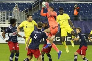 Quick-fire goals leave Nashville, Revs with 1-1 draw