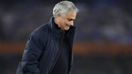 Tottenham axe boss Jose Mourinho just hours after being savaged for joining European Super League after dire Premier League season