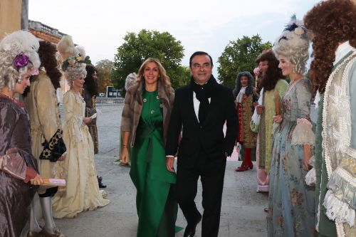 Carlos Ghosn's downfall began with extravagant parties at the Palace of Versailles