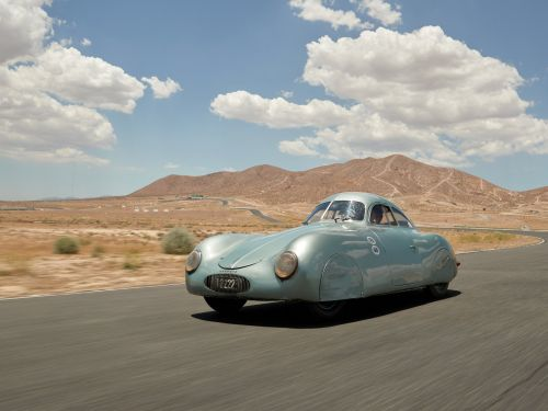 A rare vintage car some call the 'world's first Porsche' could go for $20 million at auction - but the carmaker wishes it wasn't being sold at all