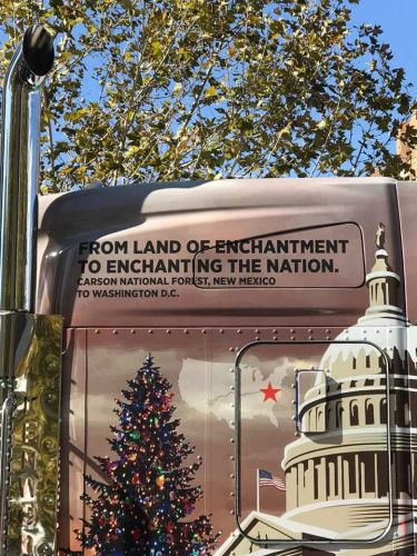 U.S. Capitol Christmas tree makes stop in Albuquerque in statewide tour