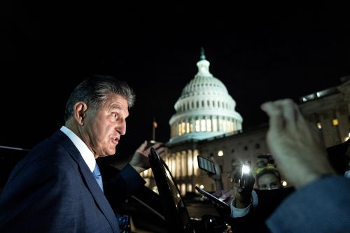 Manchin opposes carbon tax in Dem spending bill, as negotiations continue
