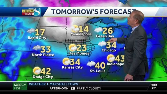 Cold front moving in for the weekend