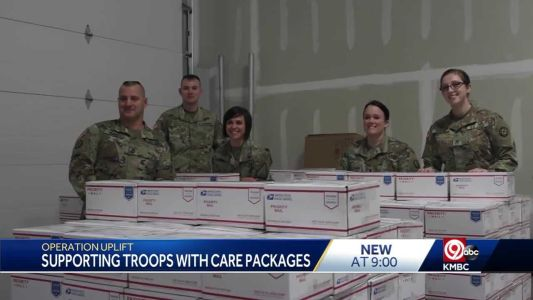 Operation Uplift is a charity in Kansas City is sending care packages to deployed troops
