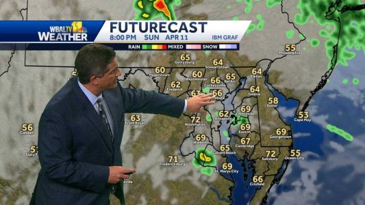 Thunderstorms possible overnight