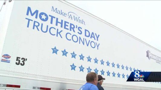 Make-A-Wish Mother's Day truck convoy returns this weekend: Here's the route