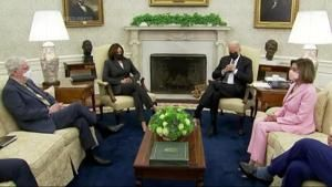 Biden hosts 'big four' Congressional leaders at WH