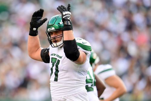Jets offensive line getting creative to build quick chemistry