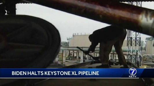 President Biden halts Keystone XL pipeline project