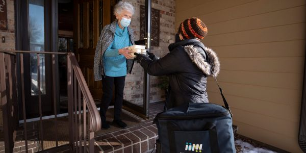 COVID-19 left millions of seniors hungry and isolated. Here's how Meals on Wheels became their lifeline