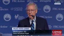 Mitch McConnell Says Republicans Will 'Plow Right Through' Nominating Brett Kavanaugh
