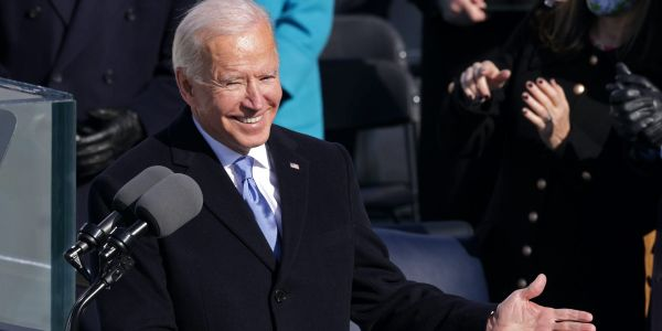 'Democracy has prevailed': President Biden says 'unity is the path forward' in inaugural address