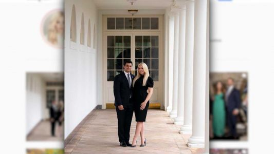 Tiffany Trump announces engagement on her father's final full day in office