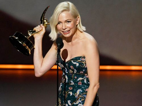 Michelle Williams Makes a Passionate Plea for Equal Pay While Accepting an Emmy for Fosse/Verdon