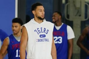 Simmons out for home opener, still not ready to join 76ers