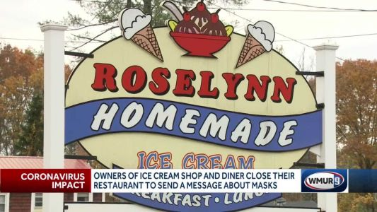 Owners of ice cream shop shut down to send message about masks
