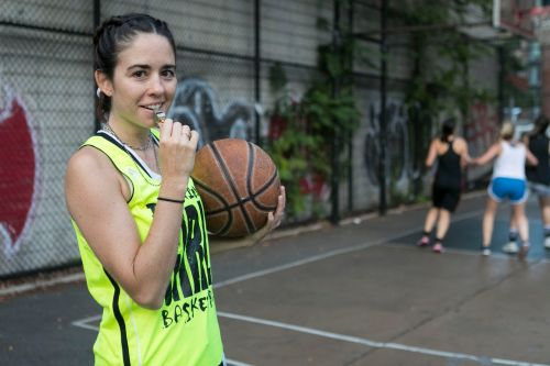 Downtown Girls Basketball is a glamorous squad of models, creatives