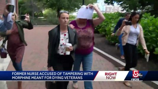 Hospice nurse accused of stealing morphine from dying veterans