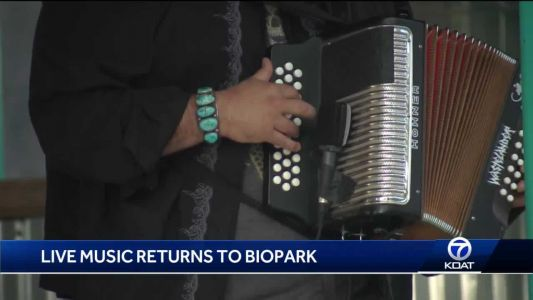 ABQ BioPark welcomes late night guests and live music