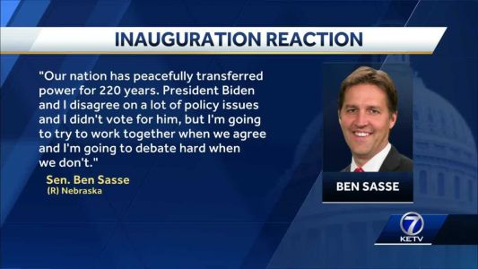 Nebraska, Iowa lawmakers react to President Joe Biden's inauguration