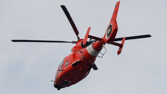 The Coast Guard searched for a kite surfer for 16 hours. Then the missing person phoned them
