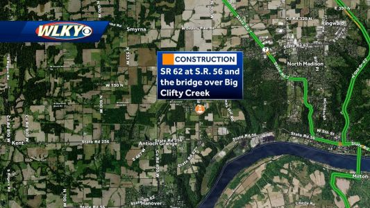 Jefferson County, Indiana: SR 62 daytime closures expected