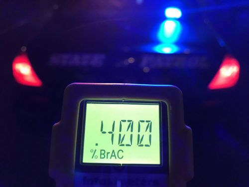 Driver arrested after testing 5 times legal limit, officials say