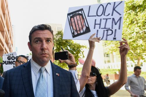 California congressman Duncan Hunter to quit after holidays