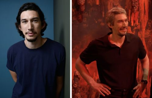 Adam Driver appeared as Jeffrey Epstein in hell during his 'Saturday Night Live' cold open and joked about murder conspiracy theories