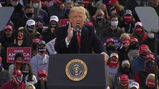 Full video: President Trump holds rally in New Hampshire