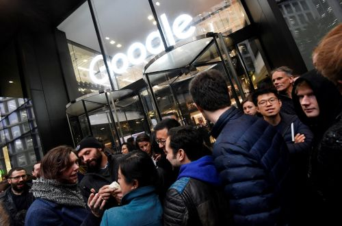 Google fires one employee and puts two others on leave for leaking documents to the media