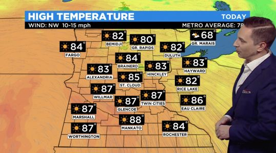 Minnesota Weather: Saturday To Hit 87 Degrees In Metro, Temperatures Back Up To 90+ On Sunday