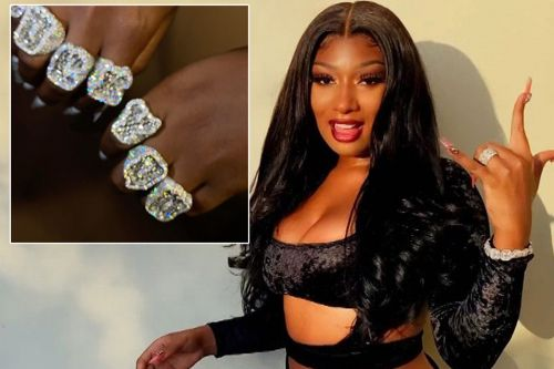 Megan Thee Stallion flashes 'f-k you' rings worth $200K