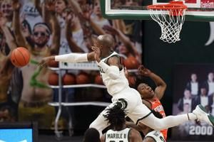 Ayo Dosunmu, No. 5 Illinois Upset by Unranked Michigan State in Big Ten Action