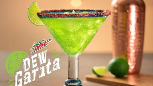 'Dewgarita': How to make the Mountain Dew margarita Red Lobster's now serving