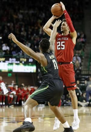 Baylor wins 73-62 to hand No. 8 Texas Tech 2nd loss in row