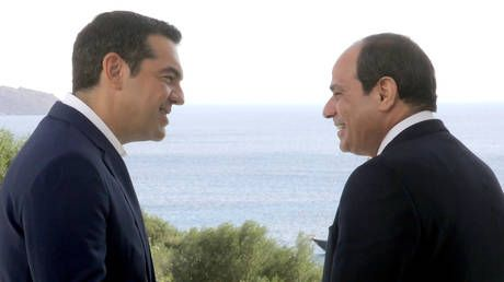 Greece & Egypt sign deal on exclusive economic zone amid tensions with Turkey
