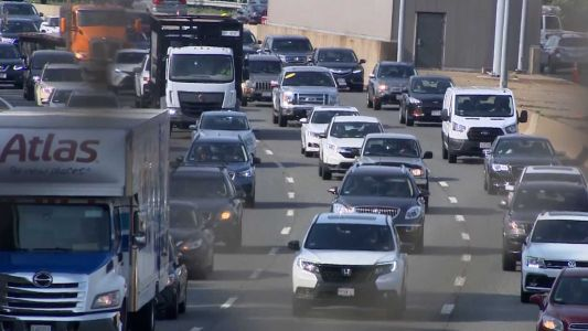 Massachusetts ranks sixth in nation for traffic congestion